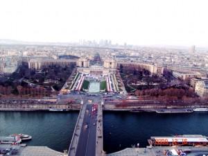 Trocadero from Eiffel