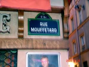 Rue Mouffetard Signboard